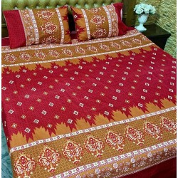 3D Crystal Cotton Bedsheets 001