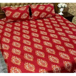 3D Crystal Cotton Bedsheets 002
