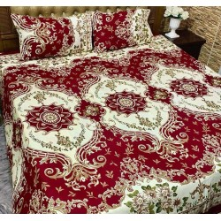 3D Crystal Cotton Bedsheets 007