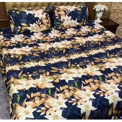 3D Crystal Cotton Bedsheets