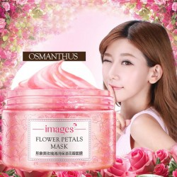 Images Flower Petals Sleeping Mask Cream
