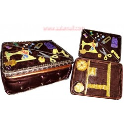Handmade Sewing Machine box With Shaneel