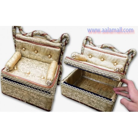 Handmade Mini sofa design And Jewelry box