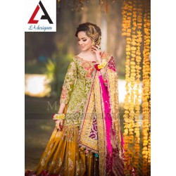 Fancy Brought To Wedding Session Full Heavy Dresses Designer