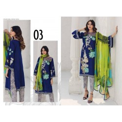 Charizma Lawn Embroidery Suit