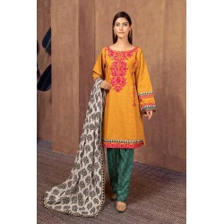 Maria B Lawn Embroidery Suit